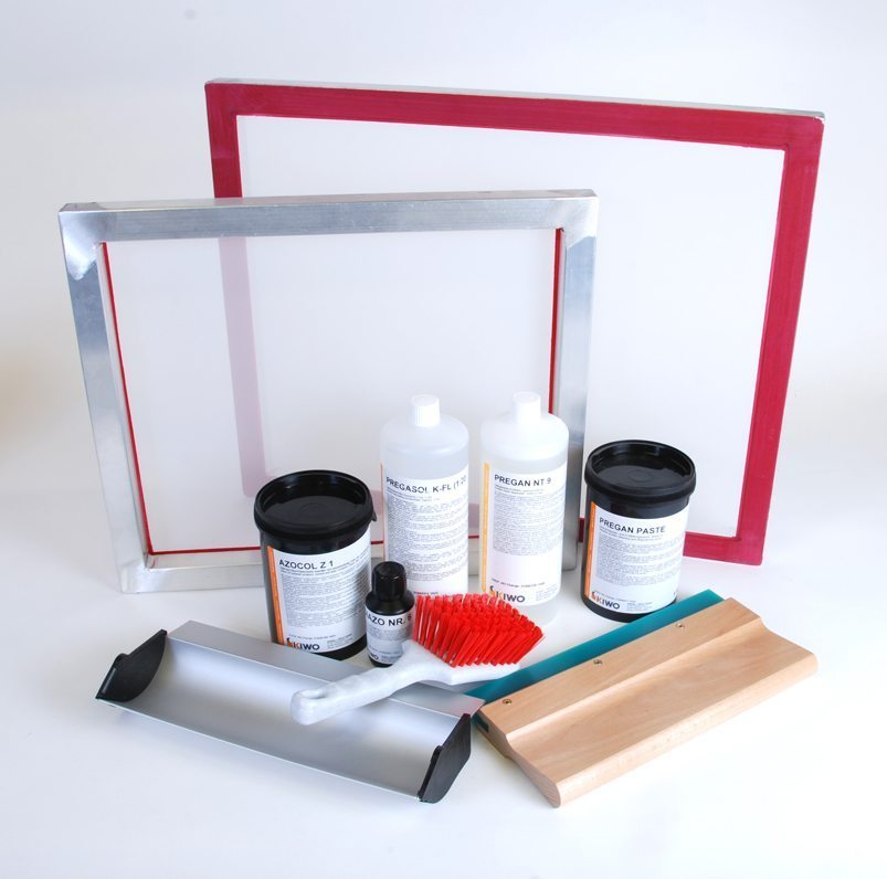 Screen Printing Kit Great For Beginners Screenstretch