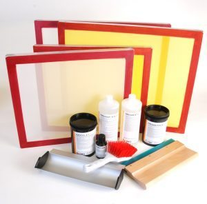 Screen Printing Kit: Great for Beginners - Screenstretch