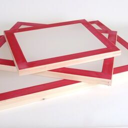 Wooden Screen Printing Frames (Incl Mesh)